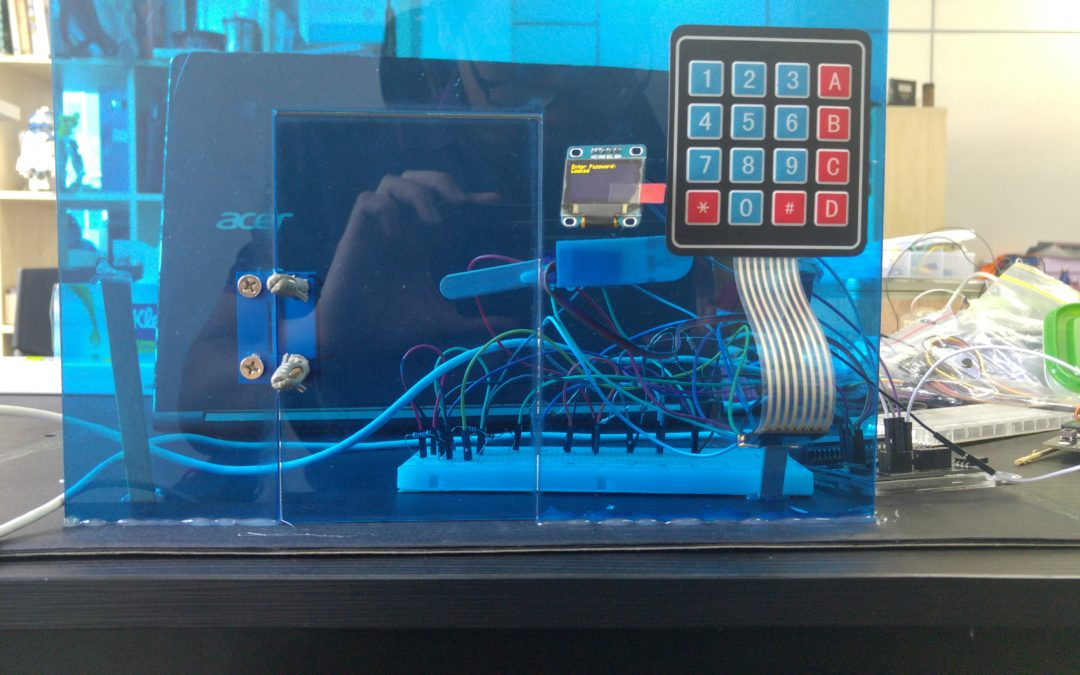 Micro:bit Security Lock Door