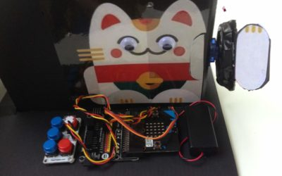 Make a Waving Fortune Cat